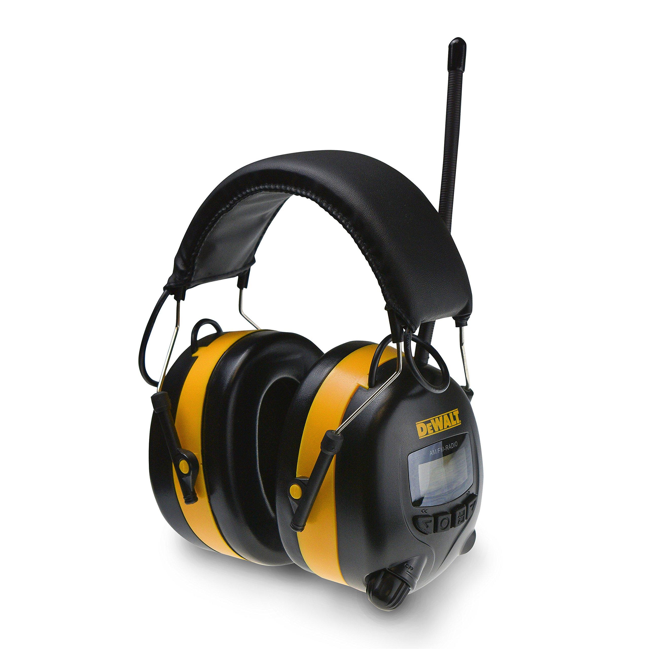 DEWALT DPG15 Digital AM/FM Hearing Protector