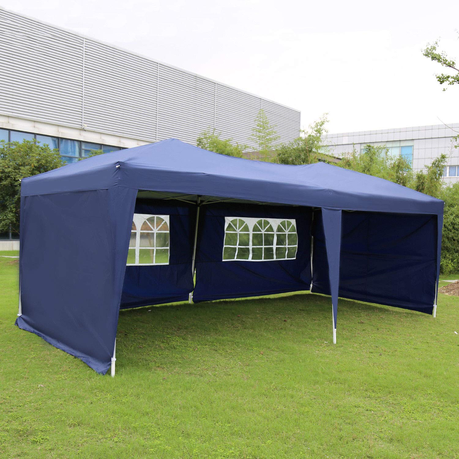 Kinbor Outdoor Portable Adjustable Instant Pop Up Gazebo Canopy Tent by Kinbor (Image #2)
