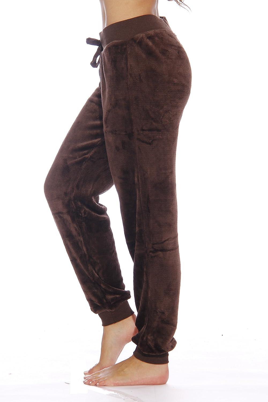 Just Love Womens Plush Jogger Pant