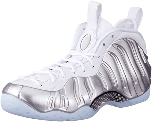 cheap for discount b5387 1fc70 Nike Air Foamposite One, Zapatillas de Gimnasia para Mujer, Plateado  (WhiteBlue TintChrome 100), 38.5 EU Amazon.es Zapatos y complementos