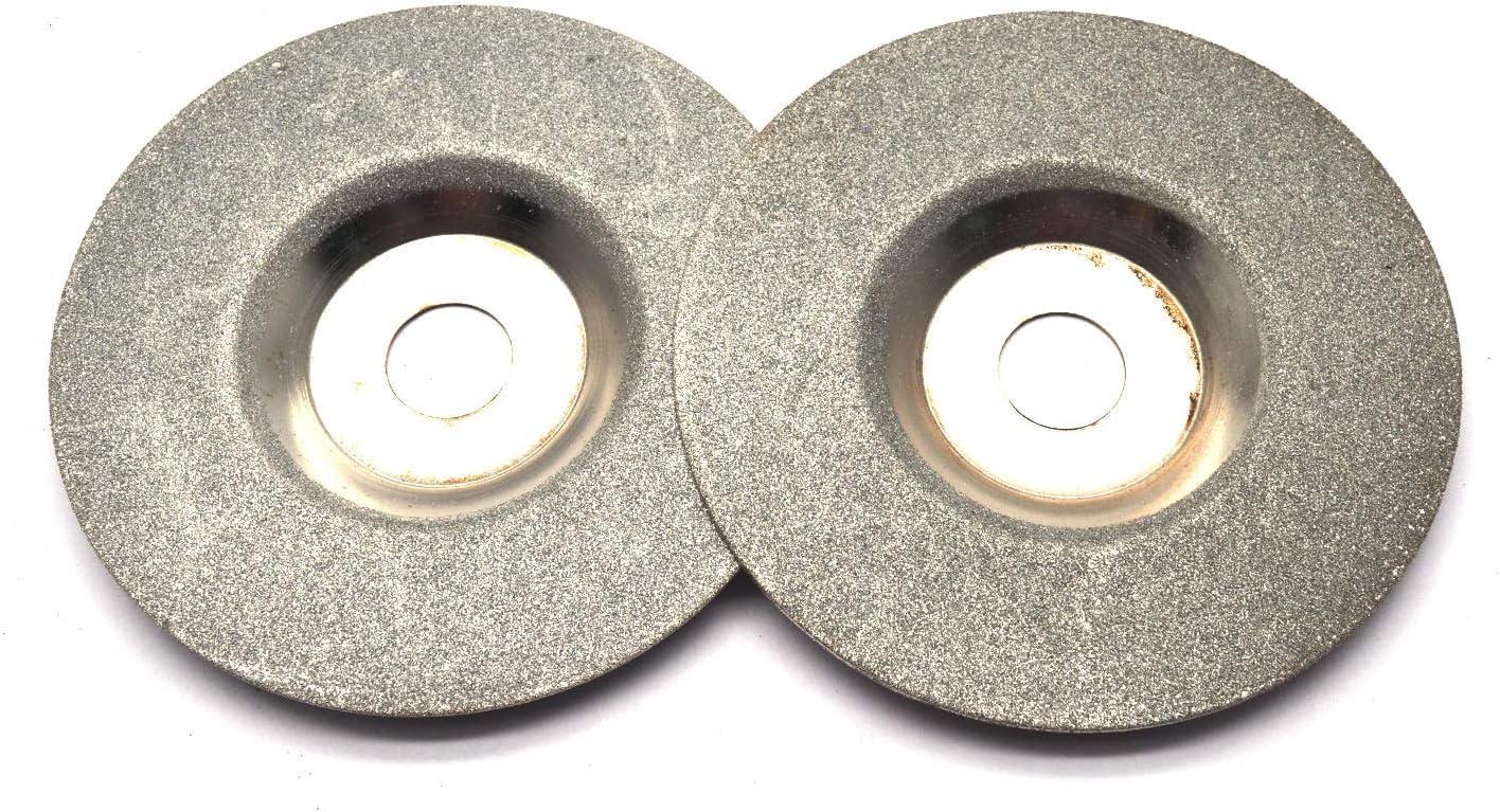 100mm 4/'/' Glass Stone Grinding Cutting Tool Diamond Coated Flat Wheel Disc BR