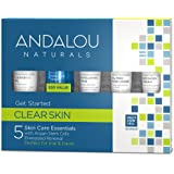 Andalou Naturals Clear Skin Get Started Kit, 5 Count