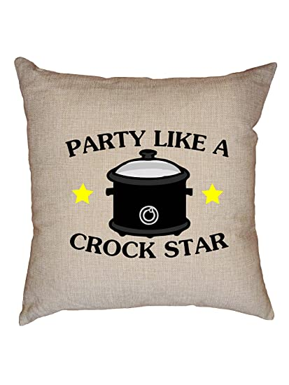 Amazon Com Hollywood Thread Party Like A Crock Star Cooking Crock