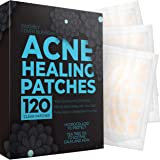 Pimple Patch Acne Treatment - Tea Tree Oil (120 Count), Hydrocolloid Bandages (3 Sizes), Acne Spot Treatment for Face…