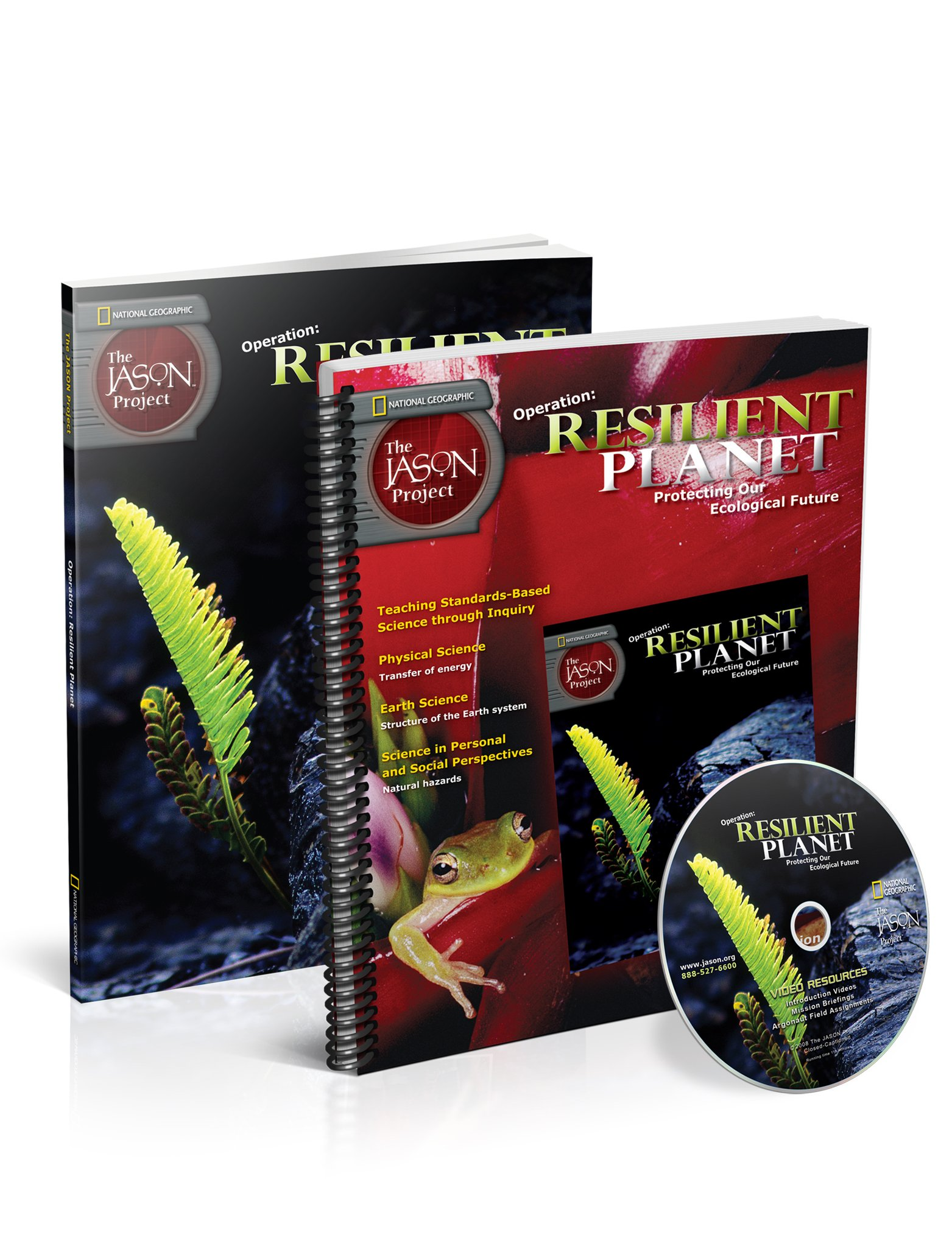 Read Online Operation: Resilient Planet Teacher Pack with DVD (The Jason Project) pdf