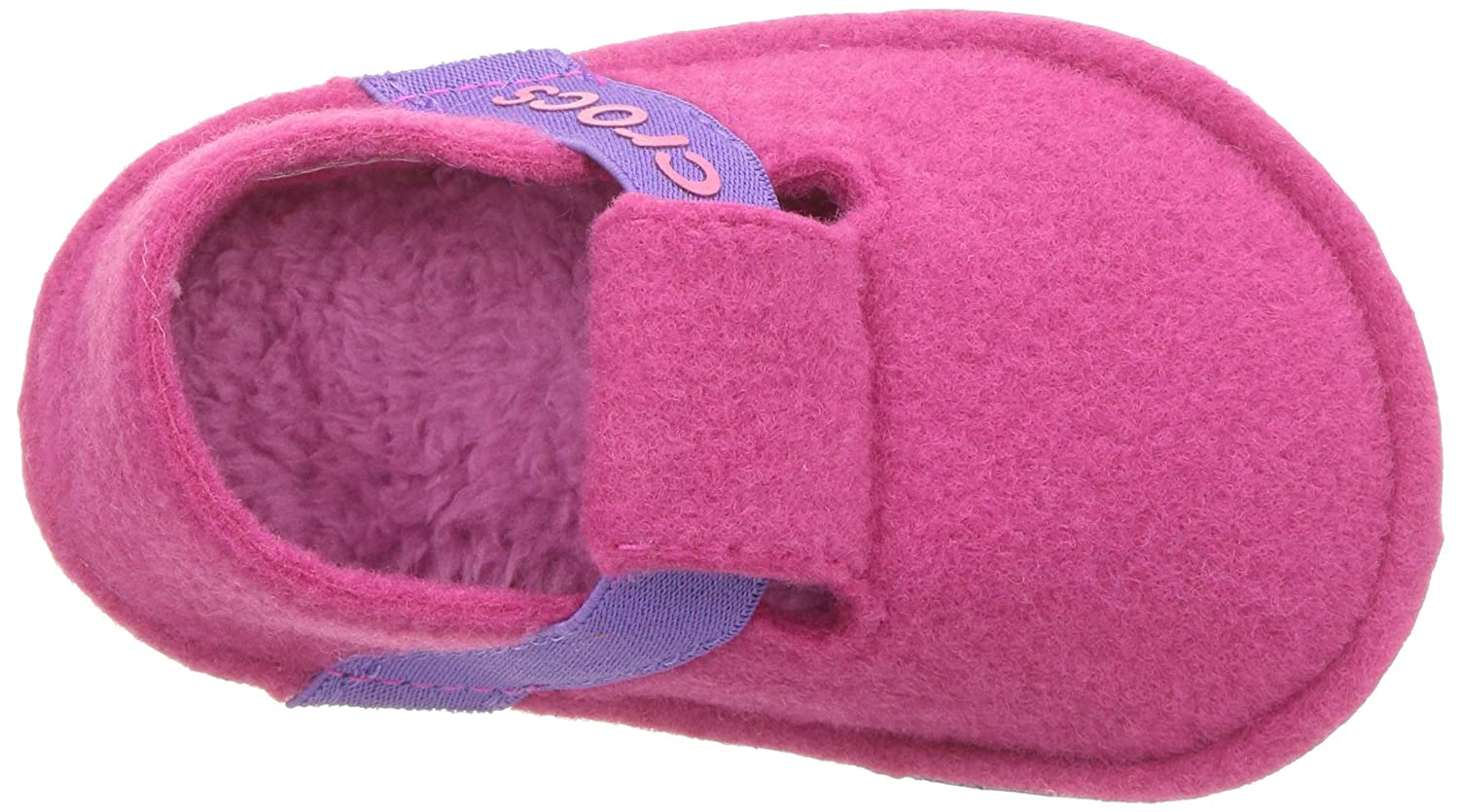 Comfortable Slip On Toddler Shoe with Soft  Liner Crocs Kids Boys and Girls Classic Slipper