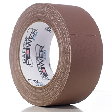 2bb6d482ac Image Unavailable. Image not available for. Color  Real Premium Grade  Gaffer Tape by Gaffer Power Made in The USA Brown 2 Inch X