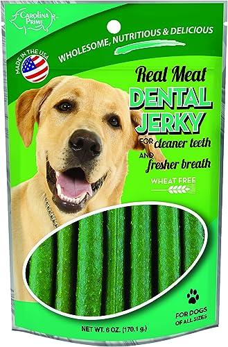 Carolina Prime Pet 40141 Dental Jerky Treat For Dogs 1 Pouch , One Size
