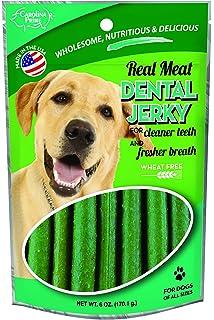Carolina Prime Pet 40141 Dental Jerky Treat For Dogs (1 Pouch), One Size