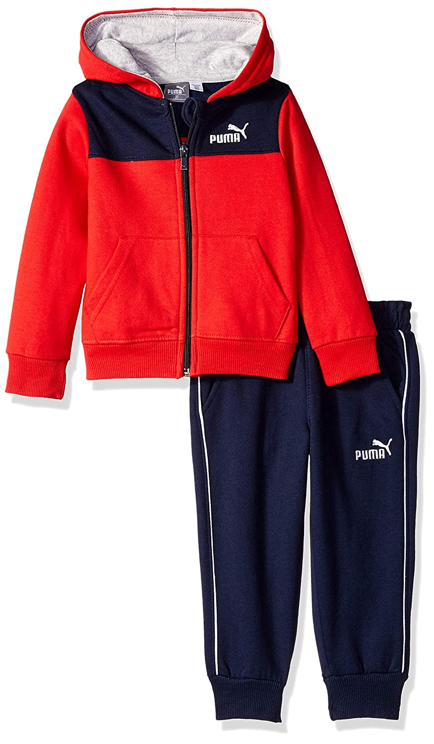 PUMA Boys Toddler Boys Boys' Fleece Zip Up Hoodie Set