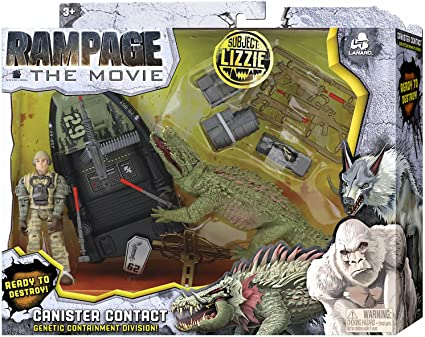 Amazon Com Rampage The Movie Canister Contact Subject Lizzie