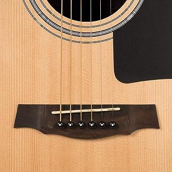 CASCHA Juego de guitarra acústica para principiantes, incl. libro ...