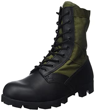 Mil-Tec , Bottes de combat homme - Noir - noir, 37.5