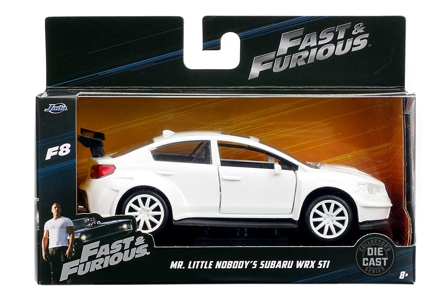 Jada 1 32 Fast Furious 8 Mr. Little Nobody's Subaru WRX STI Diecast Model Car