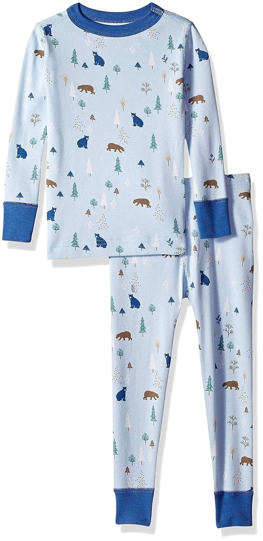 4e1548c05b Amazon.com  Moon and Back Kids  Organic Two-Piece Pajamas  Clothing