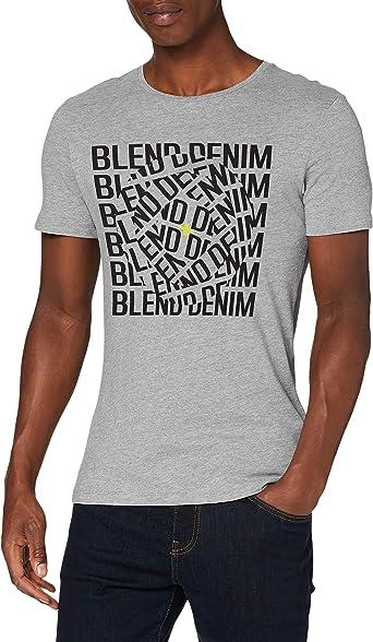 BLEND T-Shirt Slim Fit Camiseta para Hombre: Amazon.es: Ropa y accesorios