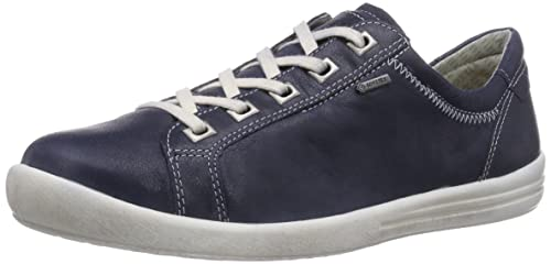 Legero TINO SURROUND, Low-Top Sneaker donna, Blu (Blau (OCEAN 80