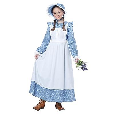 California Costumes Pioneer Girl Child Costume, Medium: Toys & Games