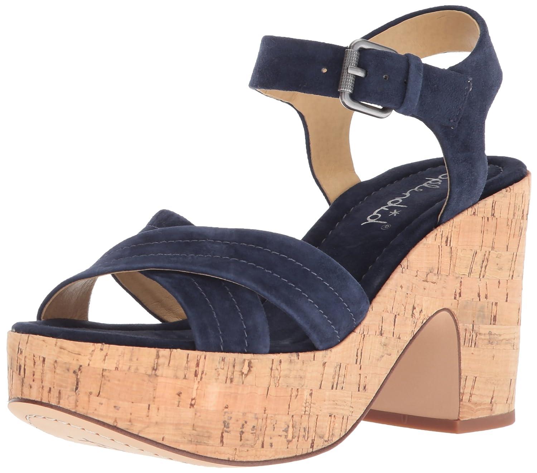 Splendid Women's Flaire Wedge Sandal B074QWQLK2 6.5 B(M) US|Navy