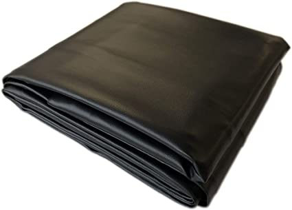 Black 8 Heavy Duty Leatherette Pool Table Cover 8 Foot Billiard Table Cover Sports Outdoors