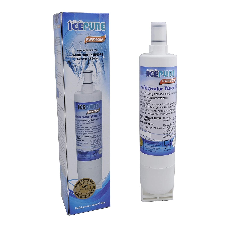 icepure rfc0500/a Whirlpool SBS002/4396508/Kompatibel K/ühlschrank Wasser Filter