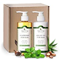 Peppermint Sulfate Free Shampoo and Conditioner by Tree to Tub - Best Shampoo and...