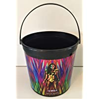 Wonder Woman 1984 2020 Movie Theater Exclusive 170 oz Plastic Popcorn Tub