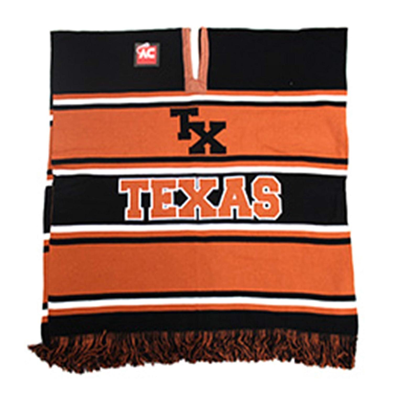 Black Eagles Texas Football Team Winter Knit Poncho