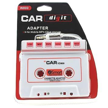 iprime® láser adaptador adaptador de radio de coche con 3,5 mm AUX Jack