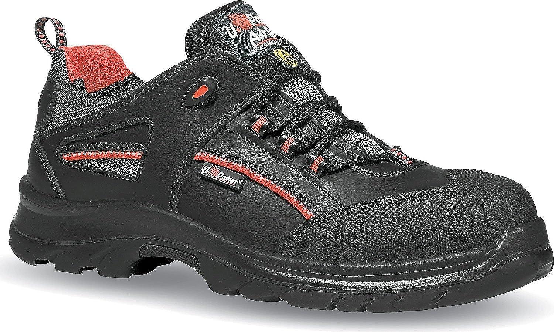 Upower U-Power Iroko Sicherheitsschuh ESD s3 Chaussures Pour Homme - Noir - Noir, Taille 38 EU
