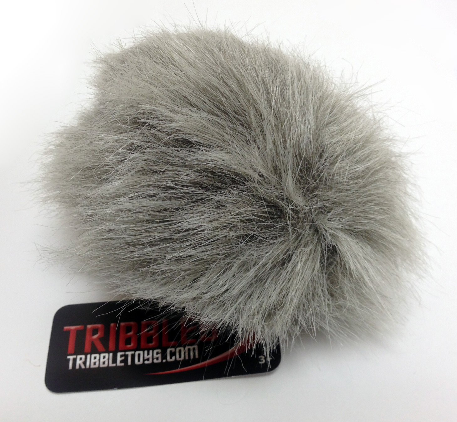Star Trek Tribble, Gray - New Dual Sound Version! - Medium Size by Tribble Toys (Image #1)