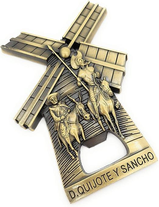 MovilCom® - iman Nevera| Figuras magneticas | imanes Nevera Personalizados de Don Quijote | diseño Exclusivo Recuerdo de España (Mod.002): Amazon.es: Hogar