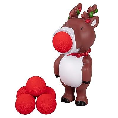 Hog Wild Holiday Reindeer Popper: Toys & Games