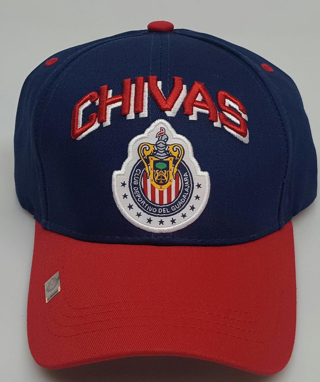 新しい。Chivas de Guadalajara刺繍調節可能なキャップ B079KLHQNL