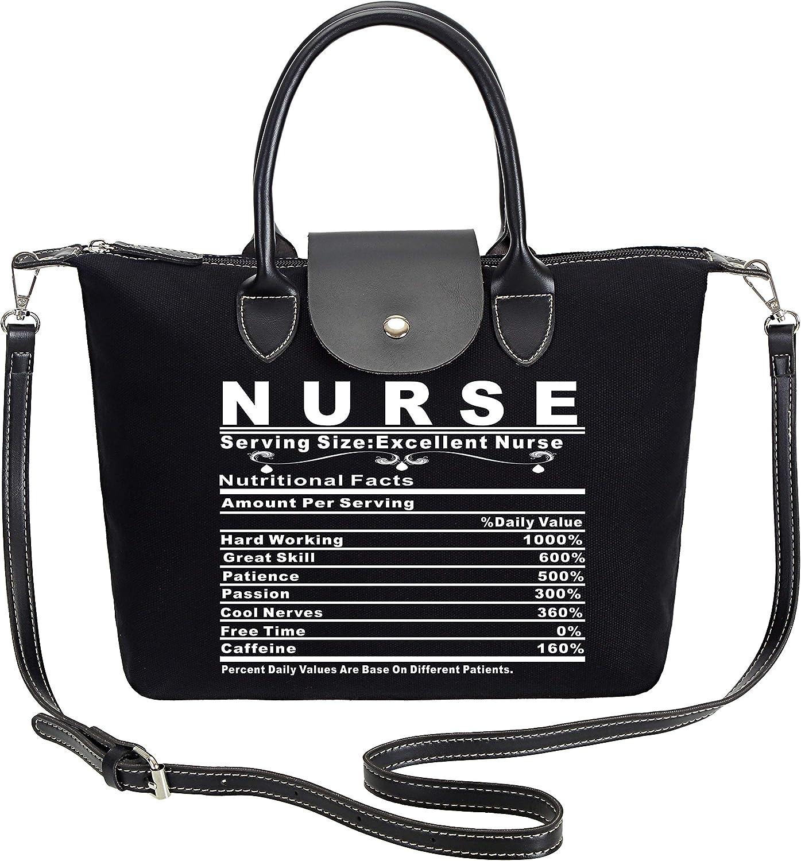 So'each Women's Excellent Nurse Tote Handbag Crossbody Shoulder Bag