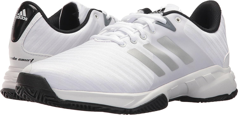 adidas Unisex-Adult Barricade Court 3 Wide Tennis Shoe
