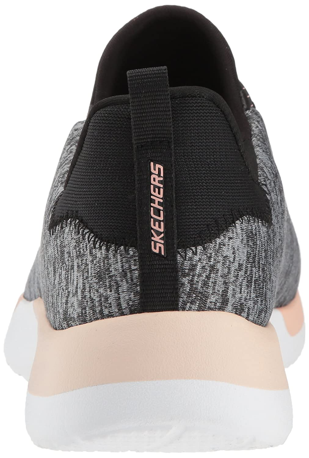 Skechers Women's Dynamight-Breakthrough Sneaker B076VY6963 8 B(M) US|Black Coral
