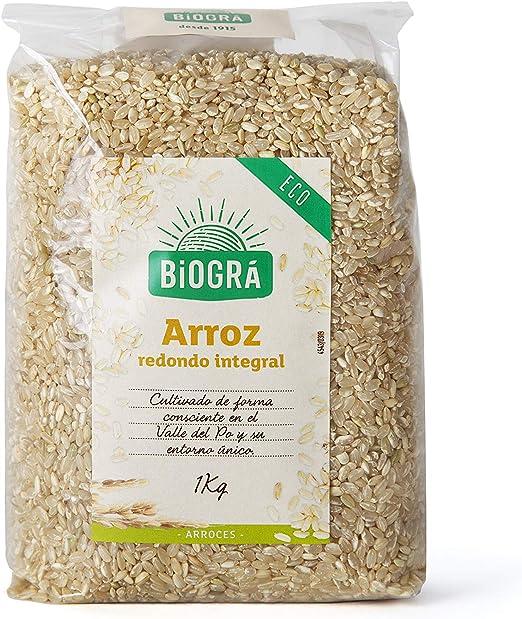 Biográ - Arroz Integral Redondo (1000 g)