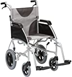 """Drive Ultra Lightweight Enigma Transit Wheelchair with 17"""" Seat Width"""