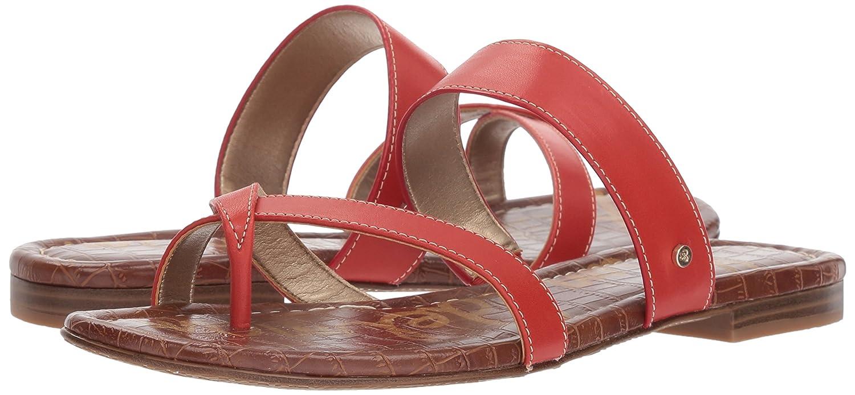 Sam Edelman Women's Bernice Slide Sandal B078HPH89Q 11 B(M) US|Candy Red