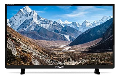 Mitashi 54.61 cm (21.5 Inches) Full HD LED TV MiDE022v25 (Black) (2017 model) Standard Televisions at amazon
