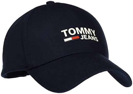 Logo Flag Beanie, Blue (Sky Captain 413), (Manufacturer Size: One Size) Tommy Hilfiger