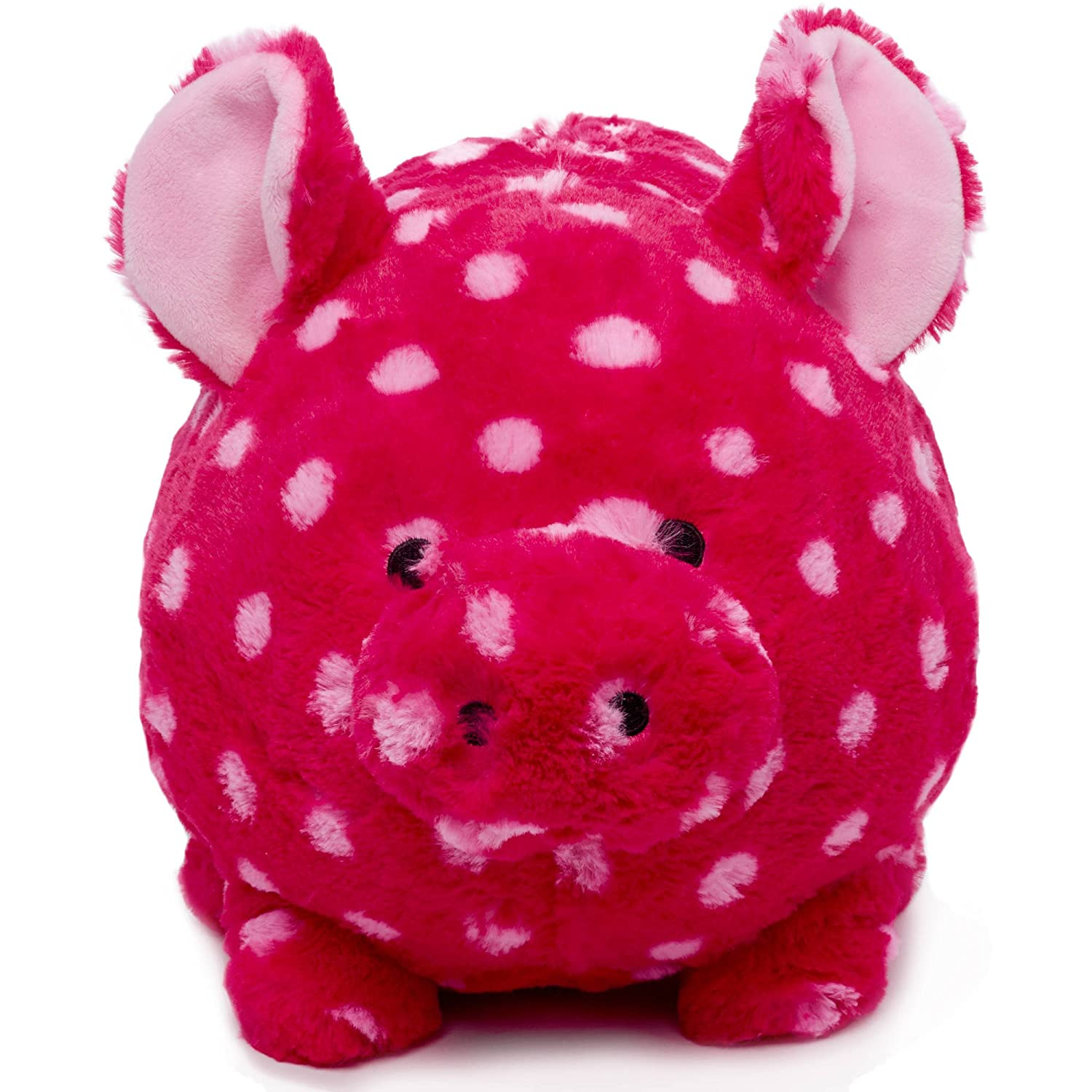 Fab Polka Dot Plush Piggy Bank 9
