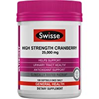 Swisse Ultiboost High Strength Cranberry Supplement | Urinary Tract Health Support...