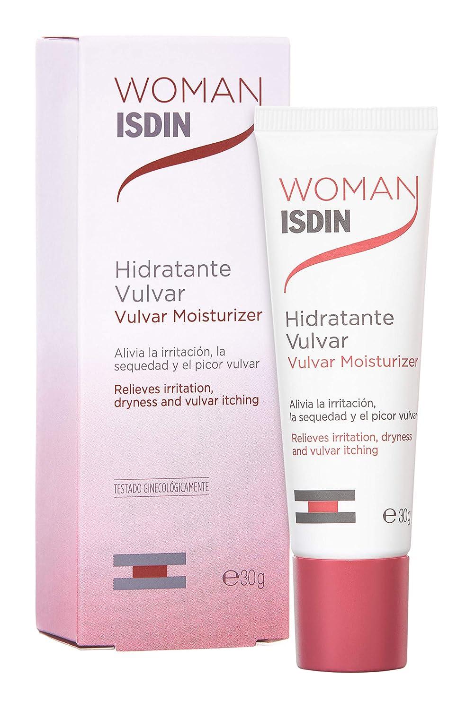 ISDIN WOMAN Hidratante vulvar, Hidrata y alivia el picor vulvar, 30gr