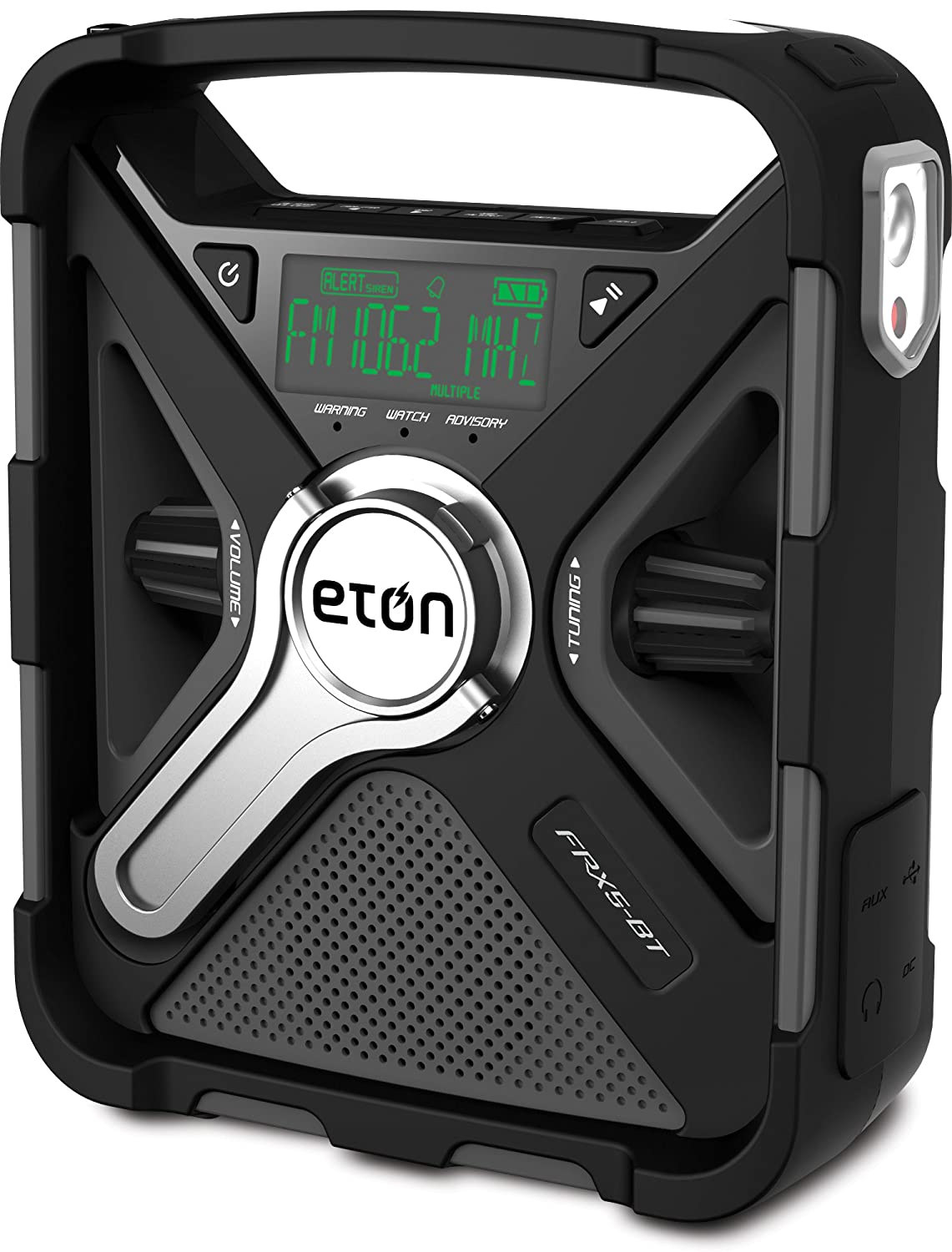 Eton FRX5-BT Emergency Weather Radio with Bluetooth and Smartphone Charger port
