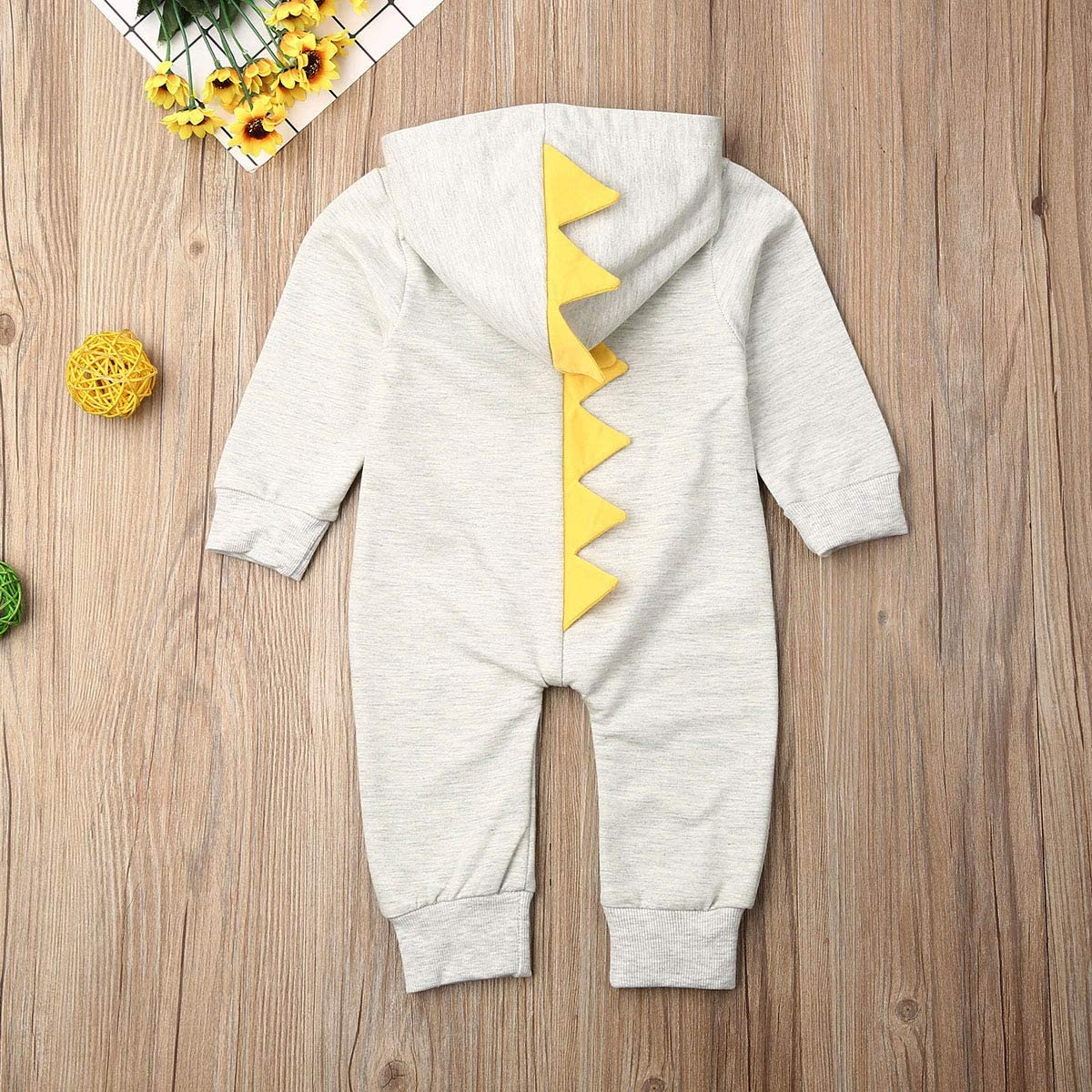 Uni is A Cone Graphic Newborn Baby Short Sleeve Bodysuit Romper Infant Summer Clothing Black