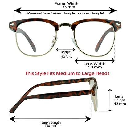 34fed215617 Amazon.com  Multifocal Progressive Computer Reading Glasses No Line with Horn  Rimmed Plastic and Metal Half Frame for Men   Women  Health   Personal Care