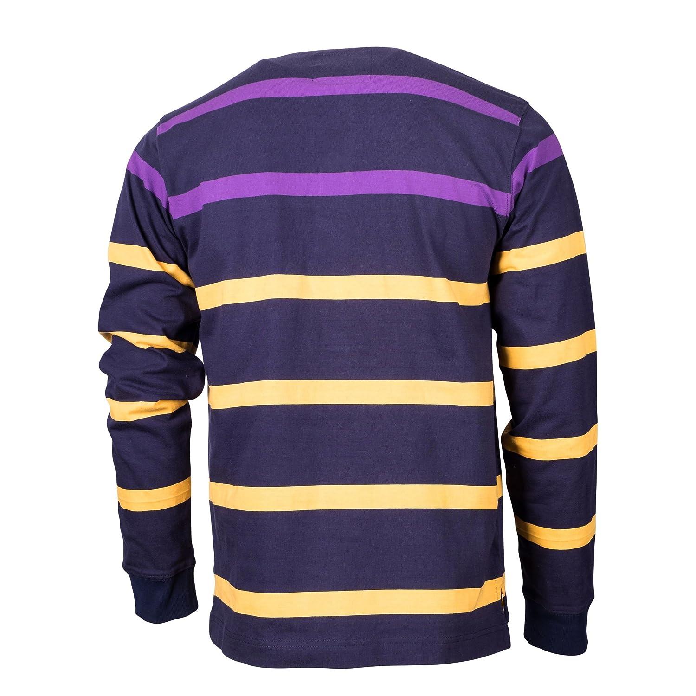 e85f3eba898 Rupert and Buckley Arlington Striped Rugby Sea Navy