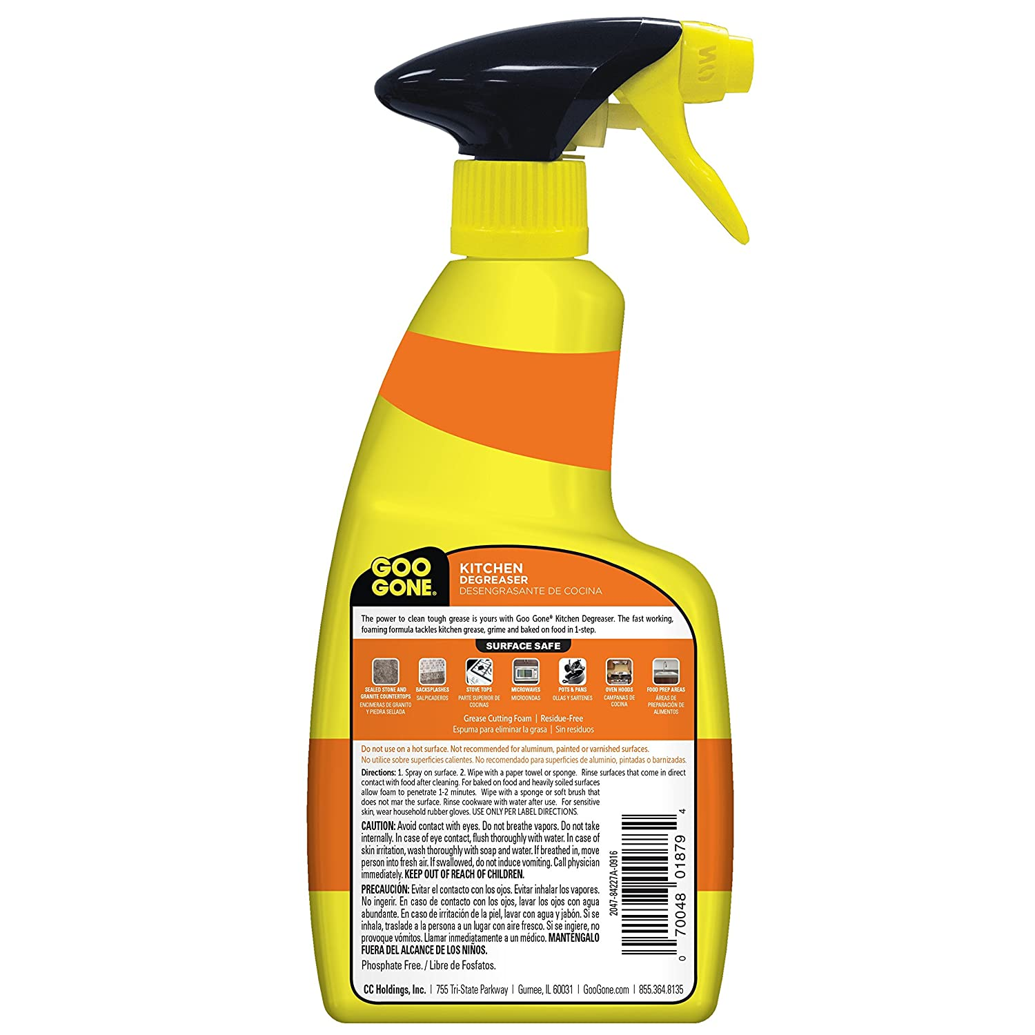 Goo Gone Kitchen Degreaser 2047, 14 fl oz, 1: Amazon.es: Salud y ...